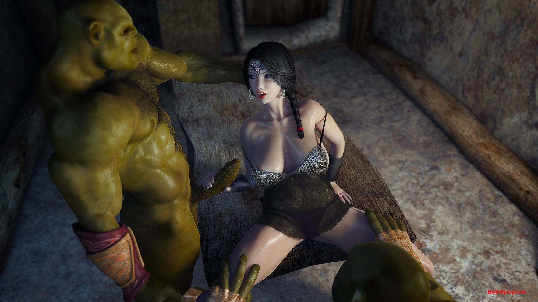 Two orc fuck princess 3d porncraft streaming