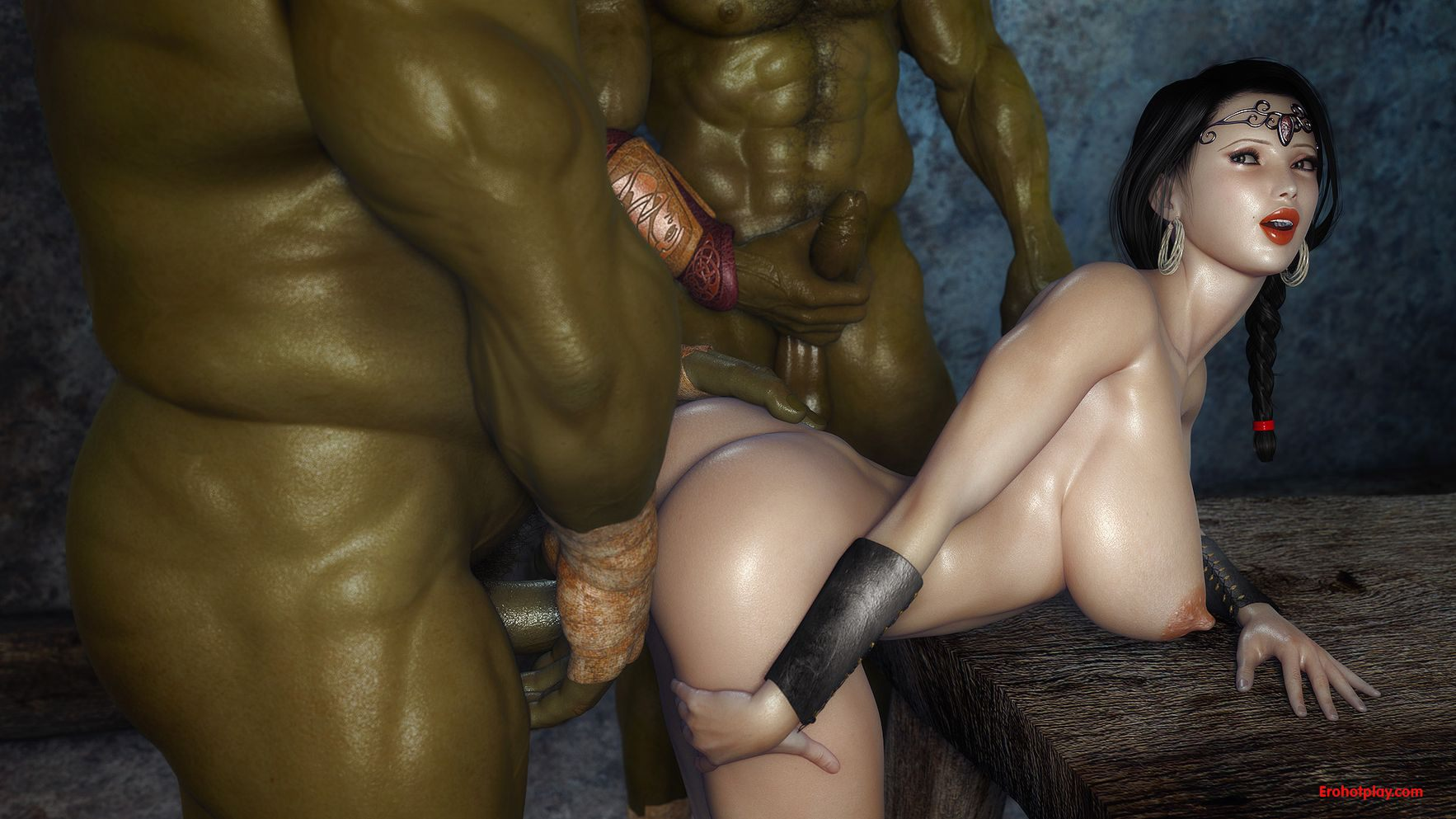 3d hd orc goblin sex sexy comic