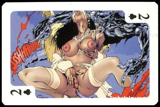Рисованный хентай порно фото