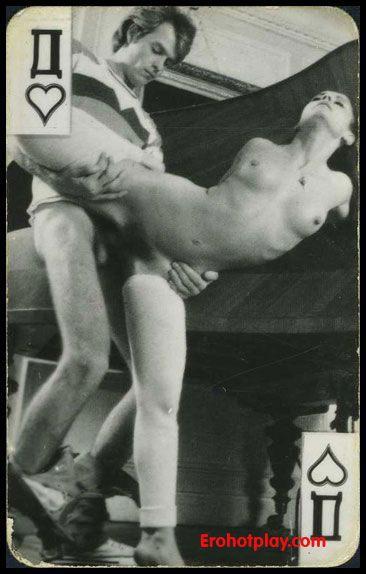 порно карты черно белое фото