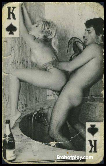 Старые игральные карты порно
