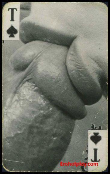 черно белые фото порно карт