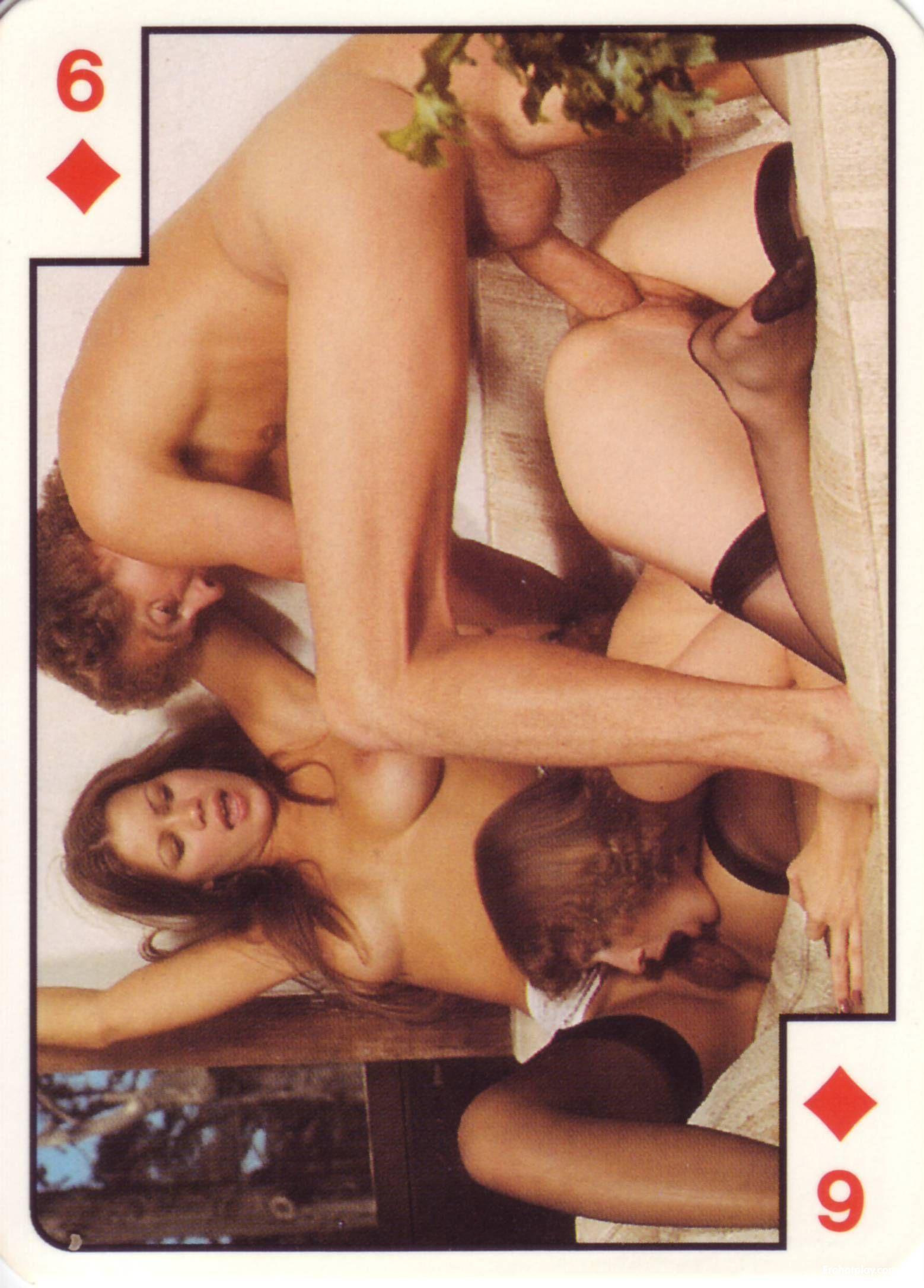 Рисованные эротические игральные карты 15 фотография