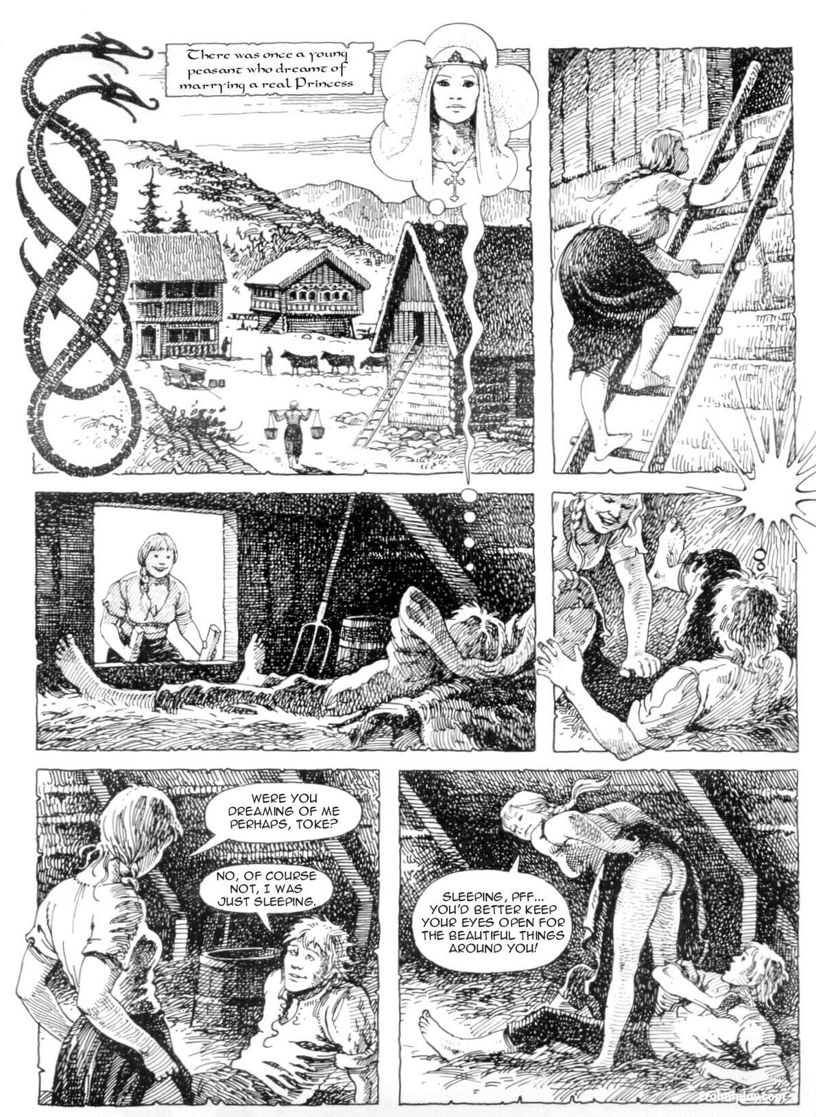 Порно комиксы на английском