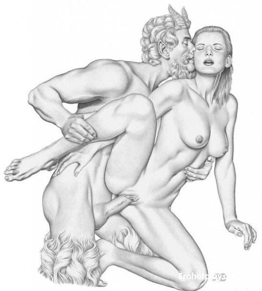 Сатир порно смотреть, порно онлайн на природе зрелую стройную с упругой грудью