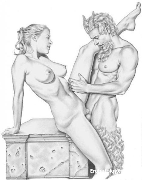 Рисунки порно баб